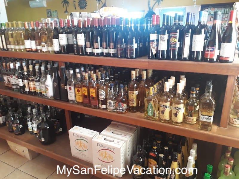 Rancho Market and Deli San Felipe Alcoholic drinks