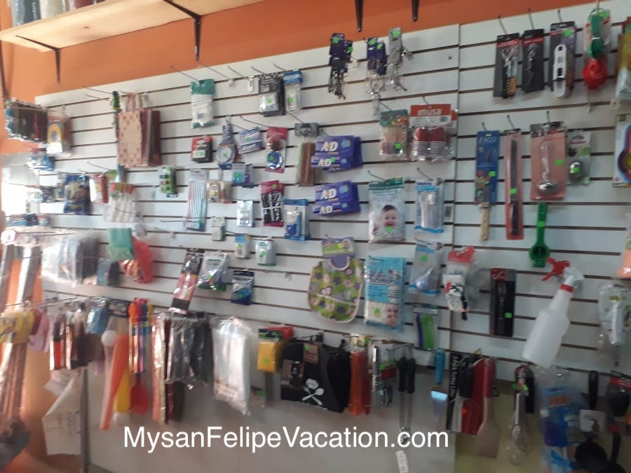 Rancho Market and Deli San Felipe - Baby products