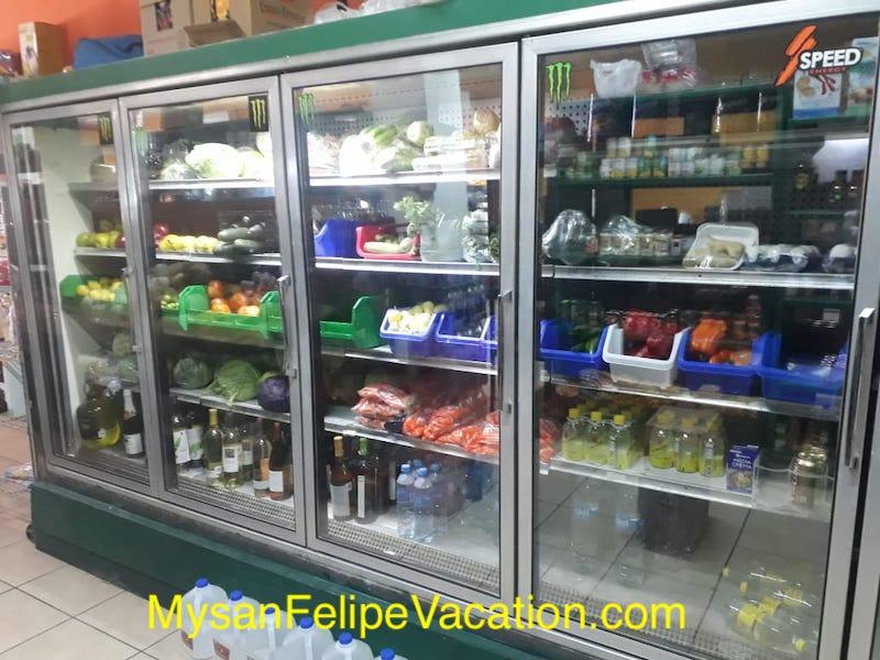Rancho Market and Deli San Felipe - cold room