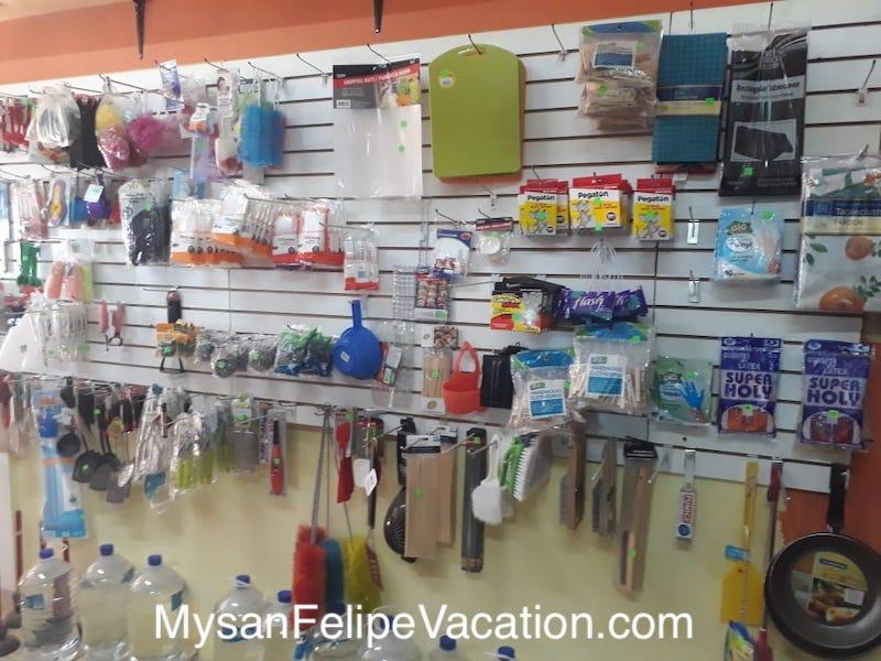 Rancho Market and Deli San Felipe - kitchen products
