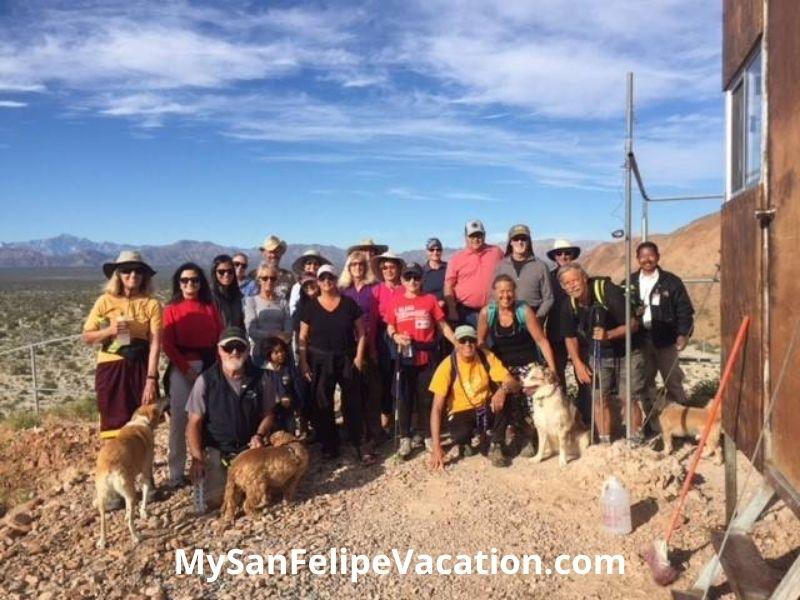 Los Caminantes hiking club San Felipe