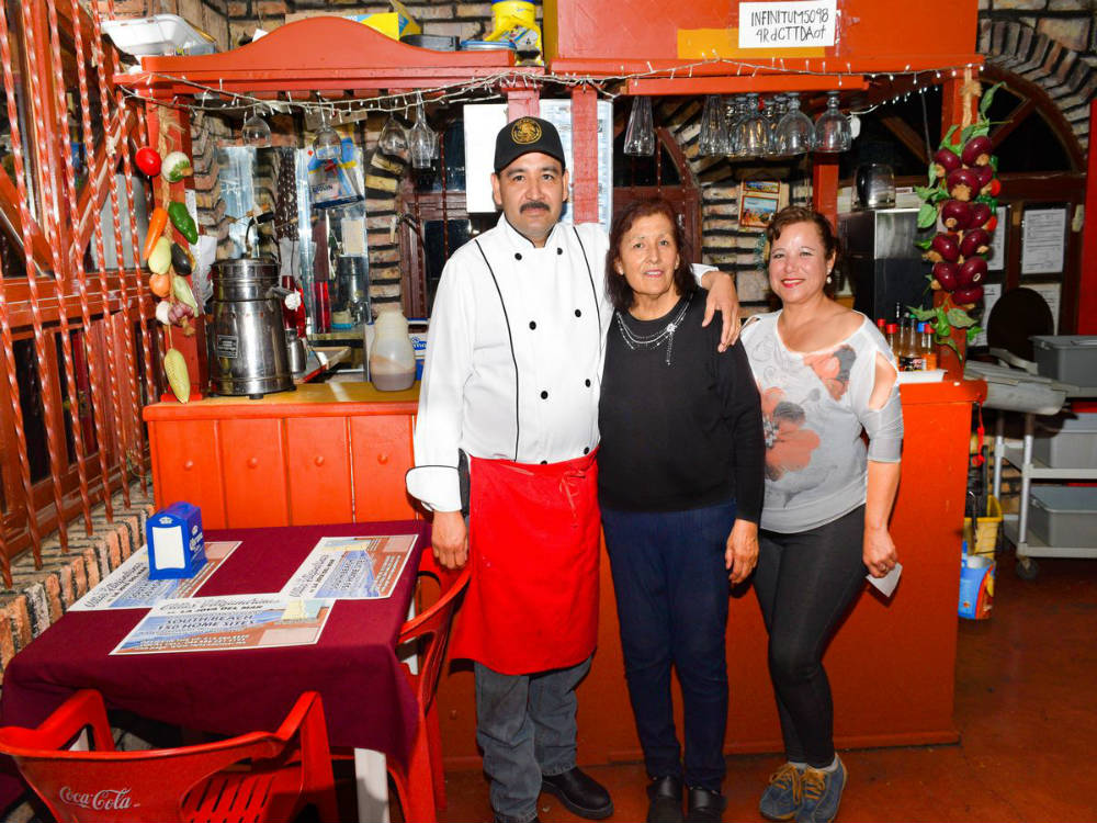 Chef and owners of Chuy's Place San Felipe Restaurant