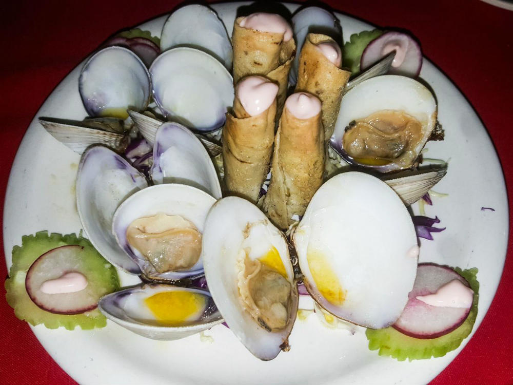 Fresh clams at Chuy's Place San Felipe
