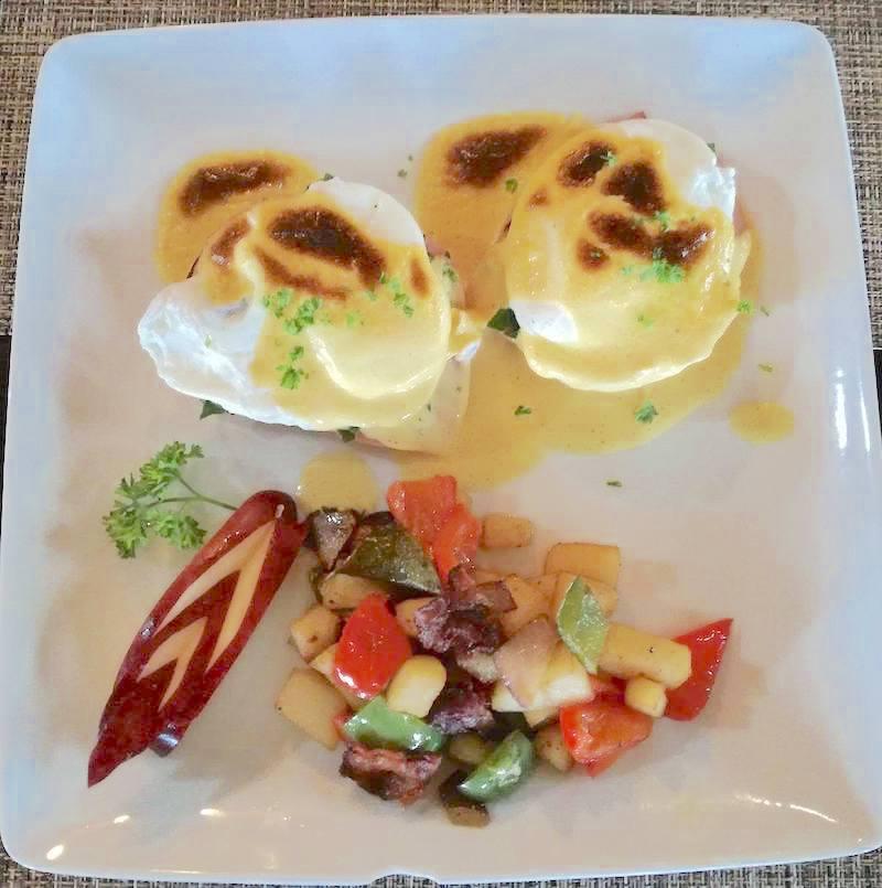 La Cabana restaurant San Felipe -  Roasted Veggies