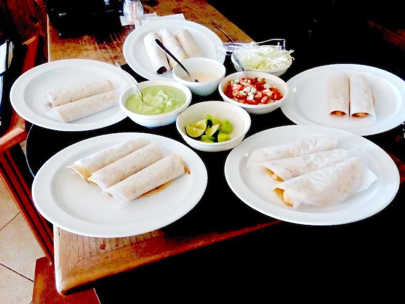 La Cabana restaurant San Felipe - Tacos