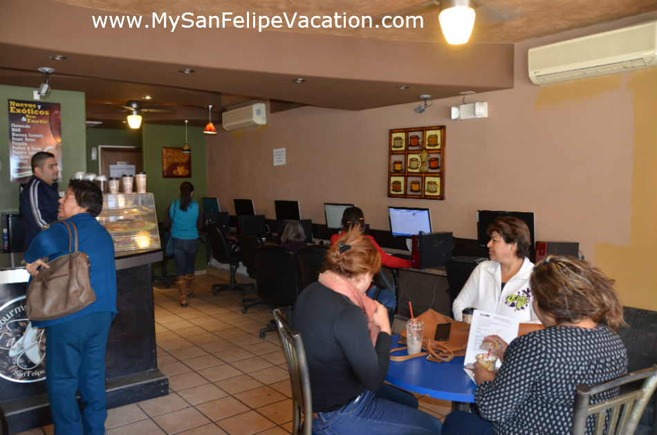 La Taza San Felipe Baja Coffee shop and Cyber cafe