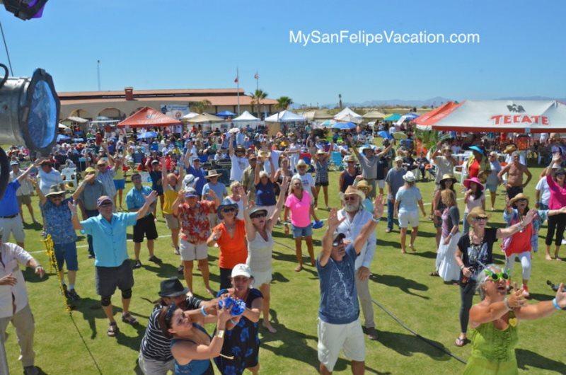 attendees of the 2014 San Felipe blues and arts fiesta