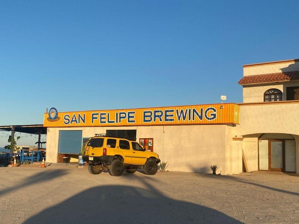 San Felipe Brewing outside view