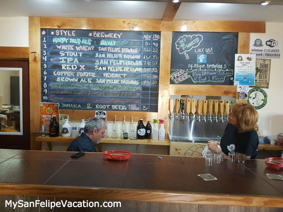 San Felipe Brewing beer list