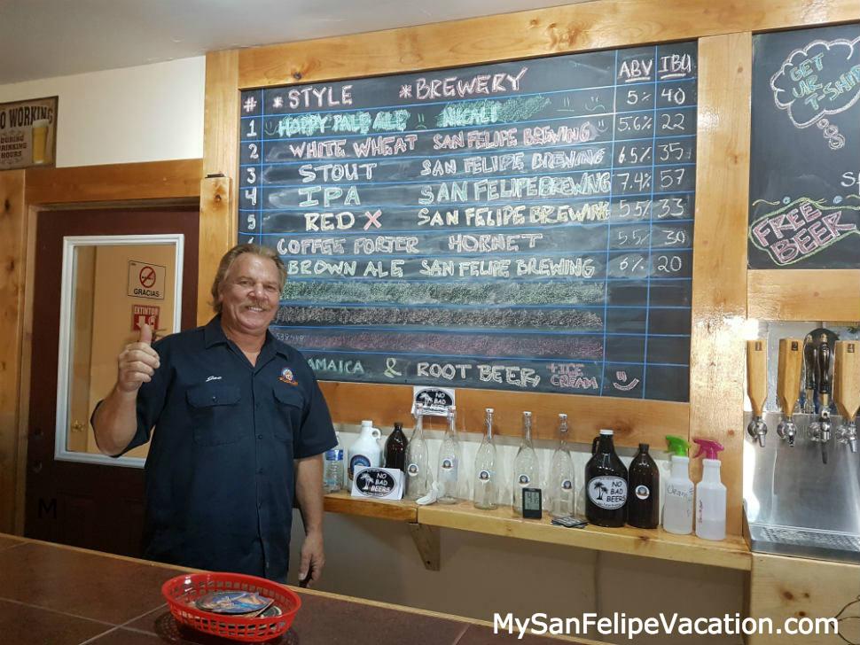 San Felipe Brewing owner
