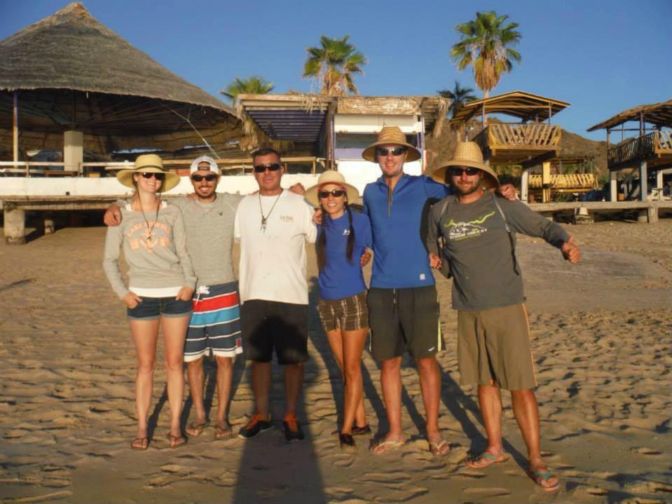Family enjoying a San Felipe vacation