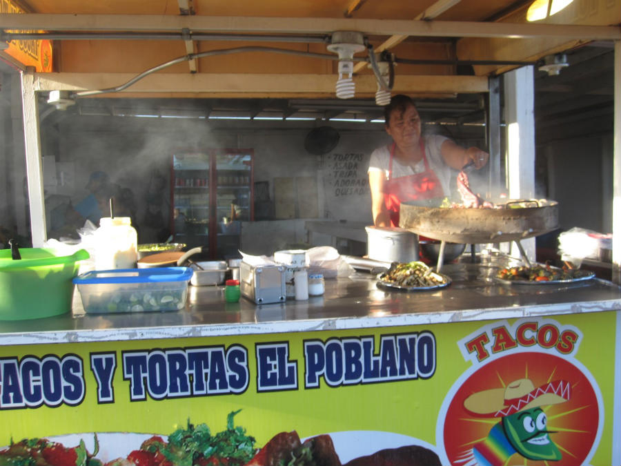 San Felipe Baja California Taco Stand