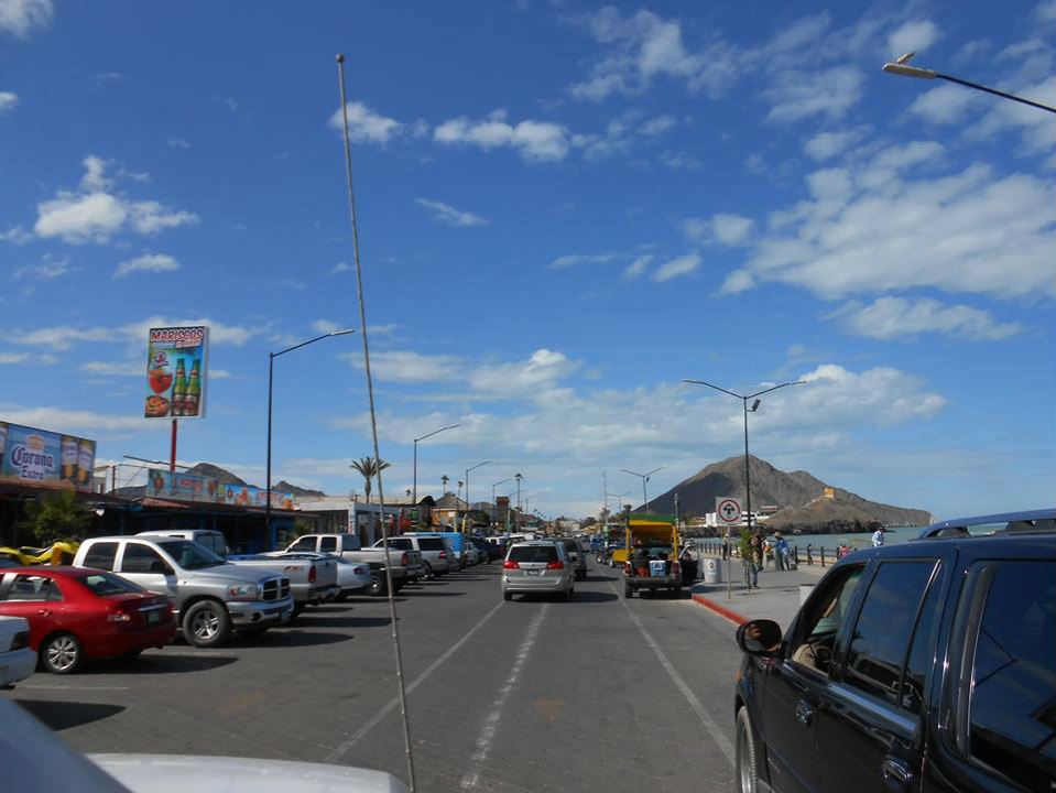 San Felipe Baja malecon boardwalk