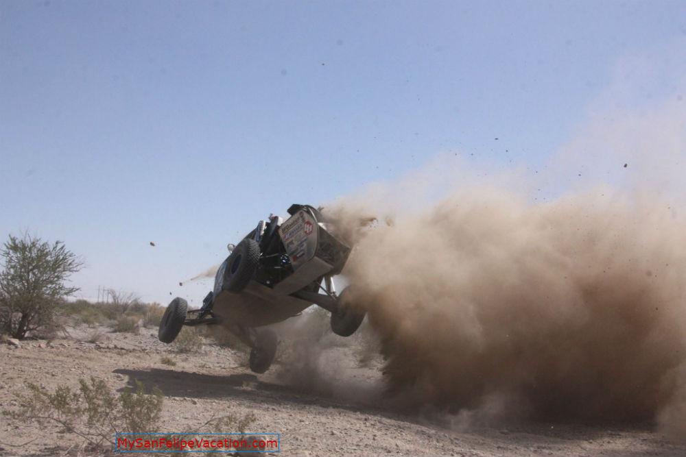 Annual San Felipe 250 race - Racing in action