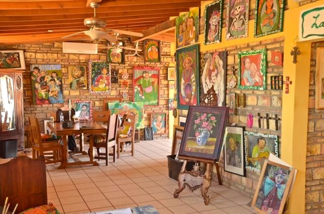 Galeria Olivar Millan interior view