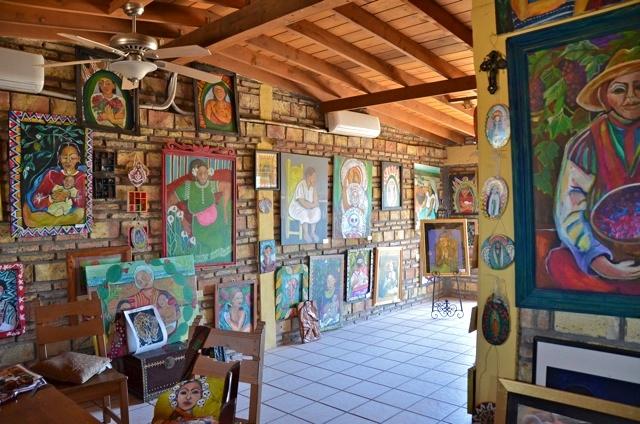 Galeria Olivar Millan floor