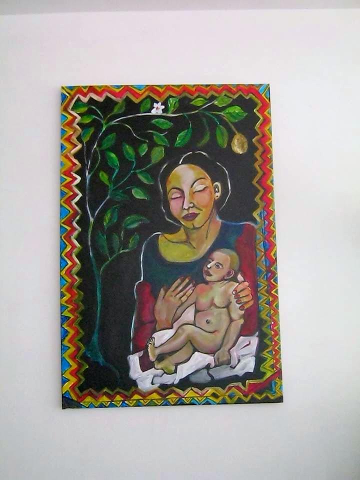 Galeria Olivar Millan - painting of mother