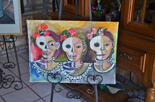 Galeria Olivar Millan sample painting 1