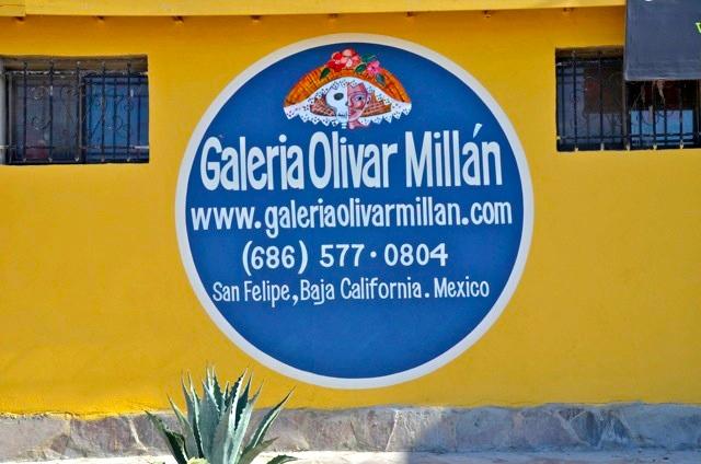 Galeria Olivar Millan, San Felipe front view