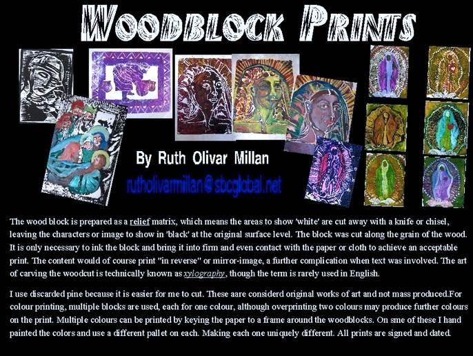 Galeria Olivar Millan - woodblock prints