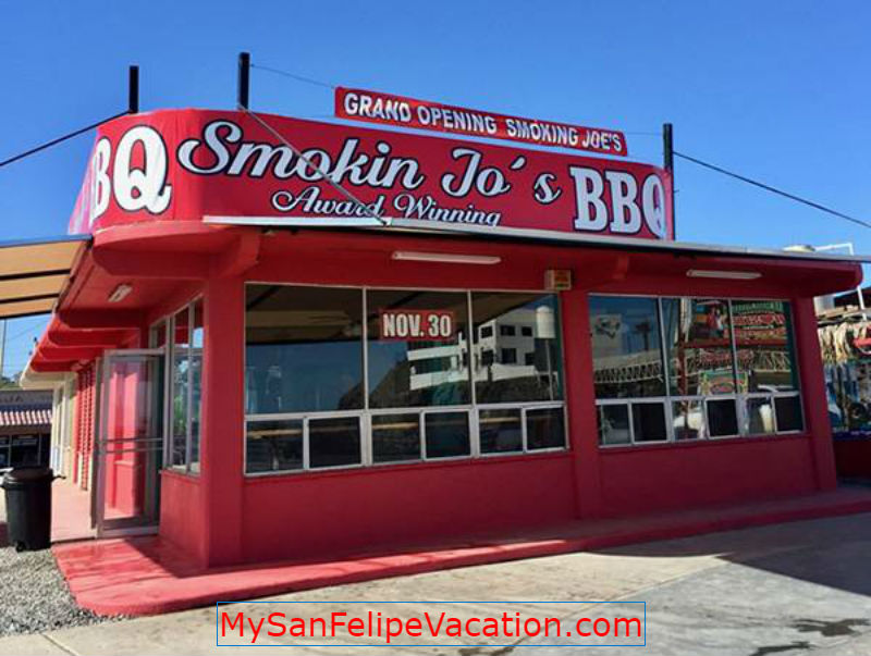 Smokin Jo's Award Winning BBQ, San Felipe, Baja California