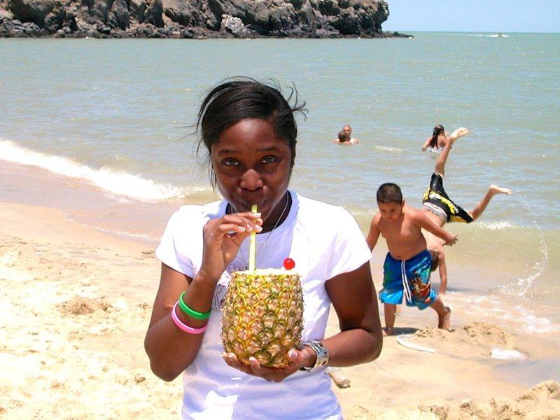 El Malecon beach in San Felipe