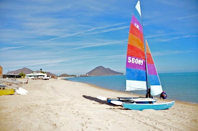 San Felipe sailboat for rent