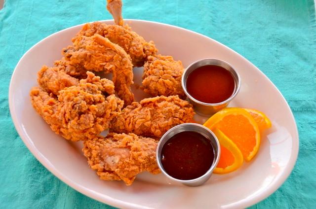 sweet spot fried wings