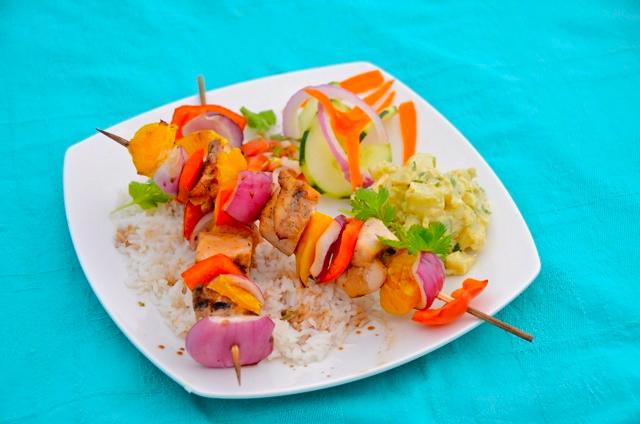 sweet spot`s kebab plate