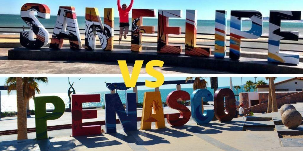 San Felipe Mexico versus Puerto Peasco