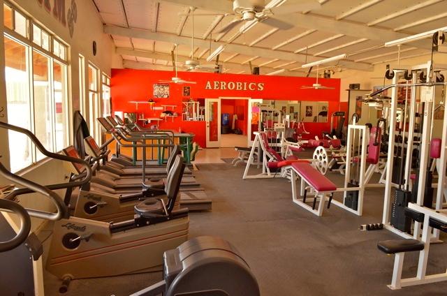 Aerobics at Squatts gym