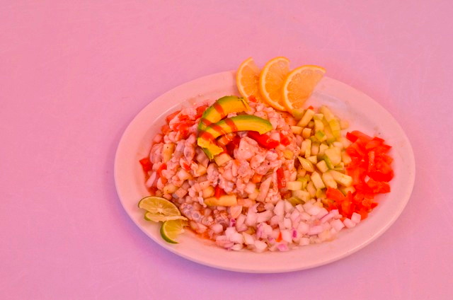 Taco Factory salad palte
