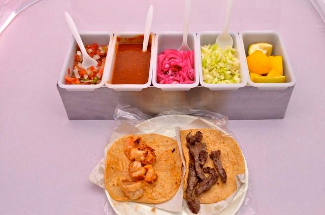 Taco factory San Felipe salsa